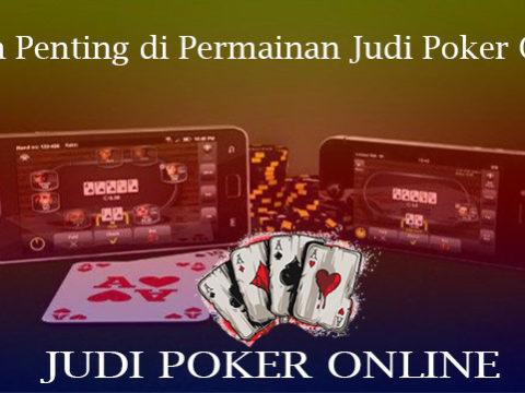 Istilah Penting di Permainan Judi Poker Online